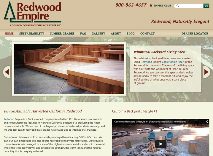 Redwood Empire - Home page