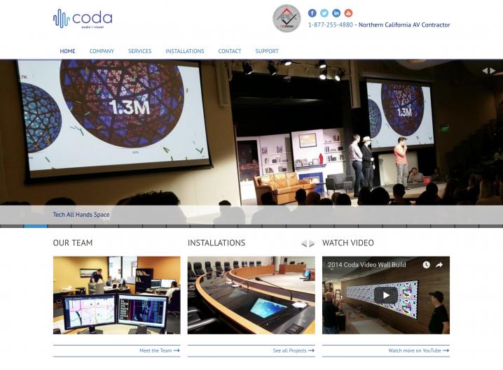 Coda Technology Homepage
