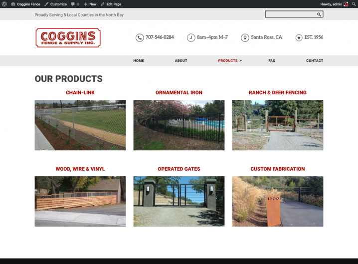 Coggins Fence product overview