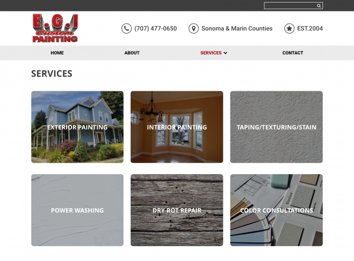 E.G.I Custom Painting Service overview