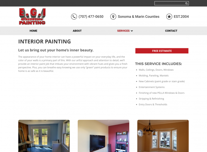 E.G.I Custom Painting Service detail