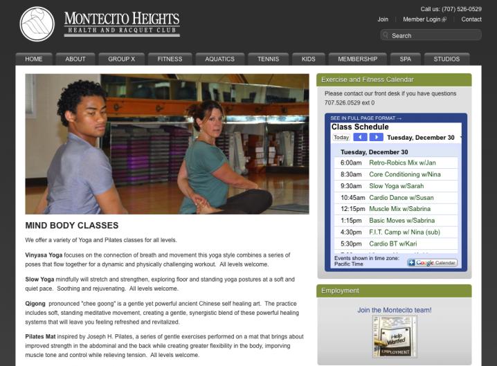 Montecito Heights Health Club - Group Training