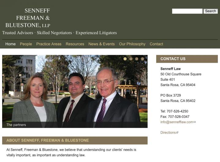 Senneff Freeman & Bluestone Law - Home page