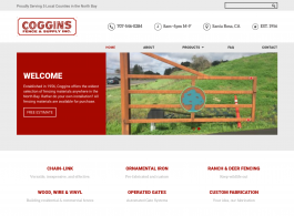 Coggins Fence home page