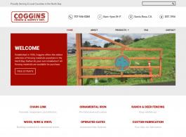 Coggins Fence home page