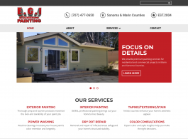 E.G.I Custom Painting home page