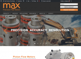 Max Machinery homepage