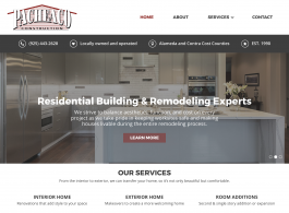 Pacheaco Construction homepage