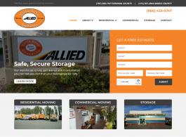 Santa Rosa Moving homepage