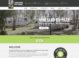 Vineyard RV Park Home page